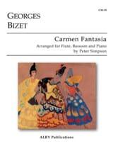 Carmen Fantasia - Georges Bizet - Partition - Trios - laflutedepan.com