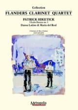 Patrick Hiketick - Dansa Latino di Maria del Real - Partition - di-arezzo.fr