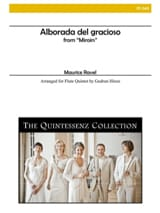 Maurice Ravel - Alborada del Gracioso - 5 Flûtes - Partition - di-arezzo.fr