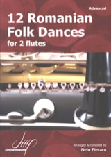 12 Romanian Folk Dances Traditionnels Partition laflutedepan