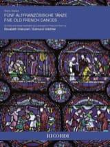 5 Danses Françaises - Flûte et Piano Marin Marais laflutedepan.com