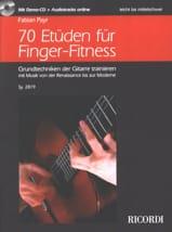 70 Etudes - Guitare - Fabian Payr - Partition - laflutedepan.com