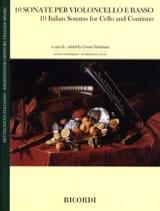 10 Sonates Italiennes - Violoncelle et Basse laflutedepan.com
