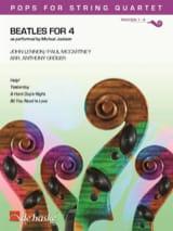Beatles for 4 - Quatuor à Cordes Beatles Partition laflutedepan.com