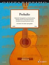 Preludio - Guitare Partition Guitare - laflutedepan