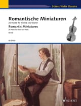 - Romantic Miniatures - Violin and Piano - Sheet Music - di-arezzo.co.uk