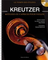 Rodolphe Kreutzer - 40 Studies or Caprices for Violin - Sheet Music - di-arezzo.co.uk