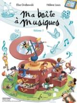 - Ma Boîte à Musiques - Volume 1 - Partition - di-arezzo.fr