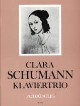 Clara Schumann - Trio, op. 17 - Violon, Violoncelle et Piano - Partition - di-arezzo.fr