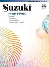 Violin School Volume 2 en Français Suzuki Partition laflutedepan.com