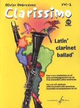 Clarissimo Vol. 2 - CD inclus Olivier Ombredane laflutedepan.com