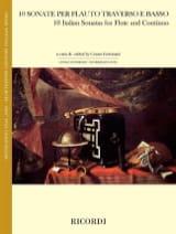 - 10 Sonates Italiennes - Partition - di-arezzo.fr