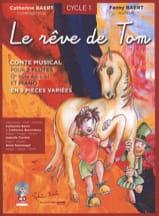Le Rêve de Tom Catherine Baert Partition Trios - laflutedepan.com