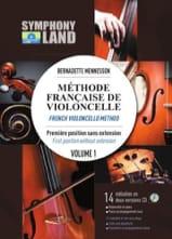 Méthode Française de Violoncelle Volume 1 - laflutedepan.com