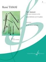 Sur Mesure Volume 1 Rémi Tamai Partition Clarinette - laflutedepan