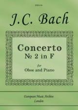 Johann Christian Bach - Concerto n° 2 en Fa - Partition - di-arezzo.fr
