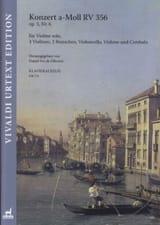 Concerto, op. 3 n° 6 Antonio Vivaldi Partition laflutedepan.com