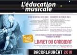 L'Education Musicale - REVUE BAC 2018 - Livre - laflutedepan.com