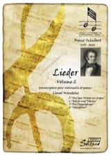 Lieder - Volume 2 Franz Schubert Partition laflutedepan.com