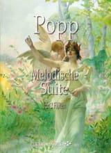 Suite Mélodique - 2 Flûtes - Wilhelm Popp - laflutedepan.com