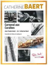 Carnaval aux Caraïbes Jean-Claude Amiot Partition laflutedepan.com