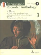 Renaissance Recorder Anthology 3 Partition laflutedepan.com