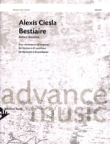 Alexis Ciesla - Bestiary - Sheet Music - di-arezzo.co.uk