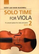 Solo Time for Viola - 2 Partition Alto - laflutedepan.com