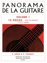 Panorama de la Guitare - Volume 1 - Partition - laflutedepan.com