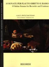 - 10 Sonates Italiennes - Flûte à Bec et BC - Partition - di-arezzo.fr