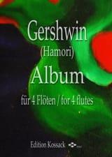 Album - 4 Flûtes GERSHWIN Partition Flûte traversière - laflutedepan
