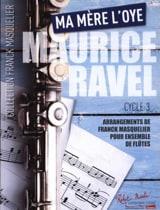 Maurice Ravel - Ma Mère L'Oye - Ensemble de Flûtes - Partition - di-arezzo.fr