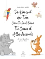 Camille Saint-Saëns - The Carnival of the Animals - 2 Flutes - Sheet Music - di-arezzo.co.uk