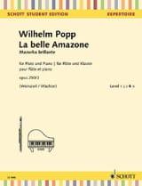 La Belle Amazone Wilhelm Popp Partition laflutedepan.com