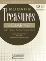 - Rubank Treasures for Clarinet - Partition - di-arezzo.fr