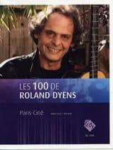 Paris-Ciné Roland Dyens Partition Guitare - laflutedepan.com