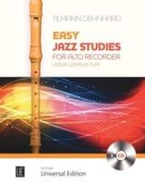 Easy Jazzy Studies - Flûte à Bec Alto laflutedepan.com