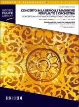 Concerto en Lab Majeur - Flûte et Piano laflutedepan.com