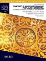 Giulio Briccialdi - Concerto en Sib Majeur - Flûte et Piano - Partition - di-arezzo.fr