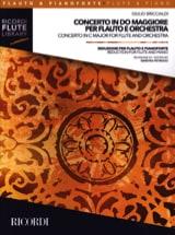 Giulio Briccialdi - Concerto en Do Majeur - Flûte et Piano - Partition - di-arezzo.fr