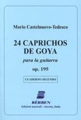 24 Caprichos de Goya - 2 Mario Castelnuovo-Tedesco laflutedepan.com
