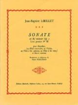Jean-Baptiste Loeillet - Sonata in D minor op. 5 - Sheet Music - di-arezzo.com