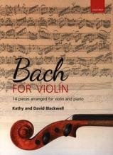 BACH - Bach for Violin - Partition - di-arezzo.fr