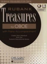 Rubank Treasures for Oboe - Hautbois et Piano - laflutedepan.com