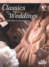 Classics for Weddings Partition Flûte traversière - laflutedepan.com
