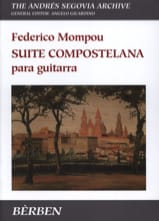 Suite Compostelana Fréderic Mompou Partition laflutedepan.com