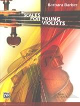 Scales for Young Violists Barbara Barber Partition Alto - laflutedepan
