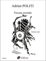 Adrien Politi - Toccata Seconda - Partition - di-arezzo.fr