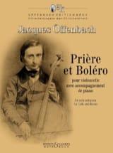 Jacques Offenbach - Prière et Boléro - Partition - di-arezzo.fr