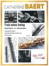 Trois Notes swing - Ens. de Flûtes Daniel Bonnet laflutedepan.com